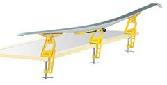 Тиски для беговых лыж Toko Ski Nordic из 3-х частей