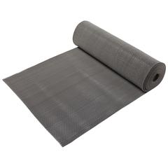 Коврик-дорожка против скольжения Zig-Zag, серый, 8 мм, 0,9*10 м