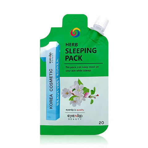 Ночная маска Eyenlip Pocket Pouch Line Herb Sleeping Pack