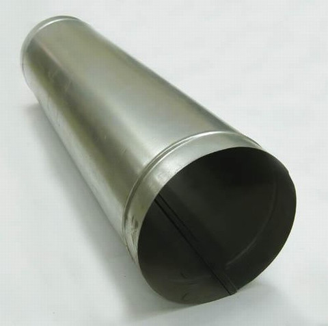 Труба прямошовная D 355 (1м) оцинкованная сталь