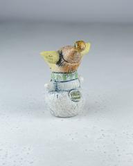 Керамическая статуэтка «Хрюша-снеговик», Falco Ceramic