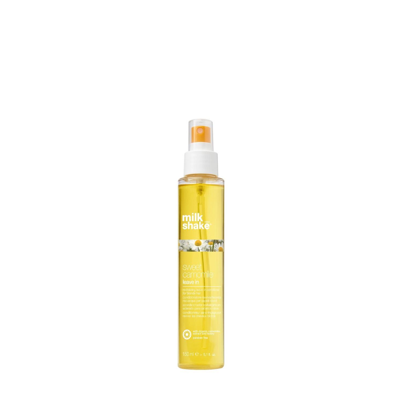 Несмываемый спрей кондиционер для волос с экстрактом ромашки / Milk Shake sweet camomile leave in 150 мл