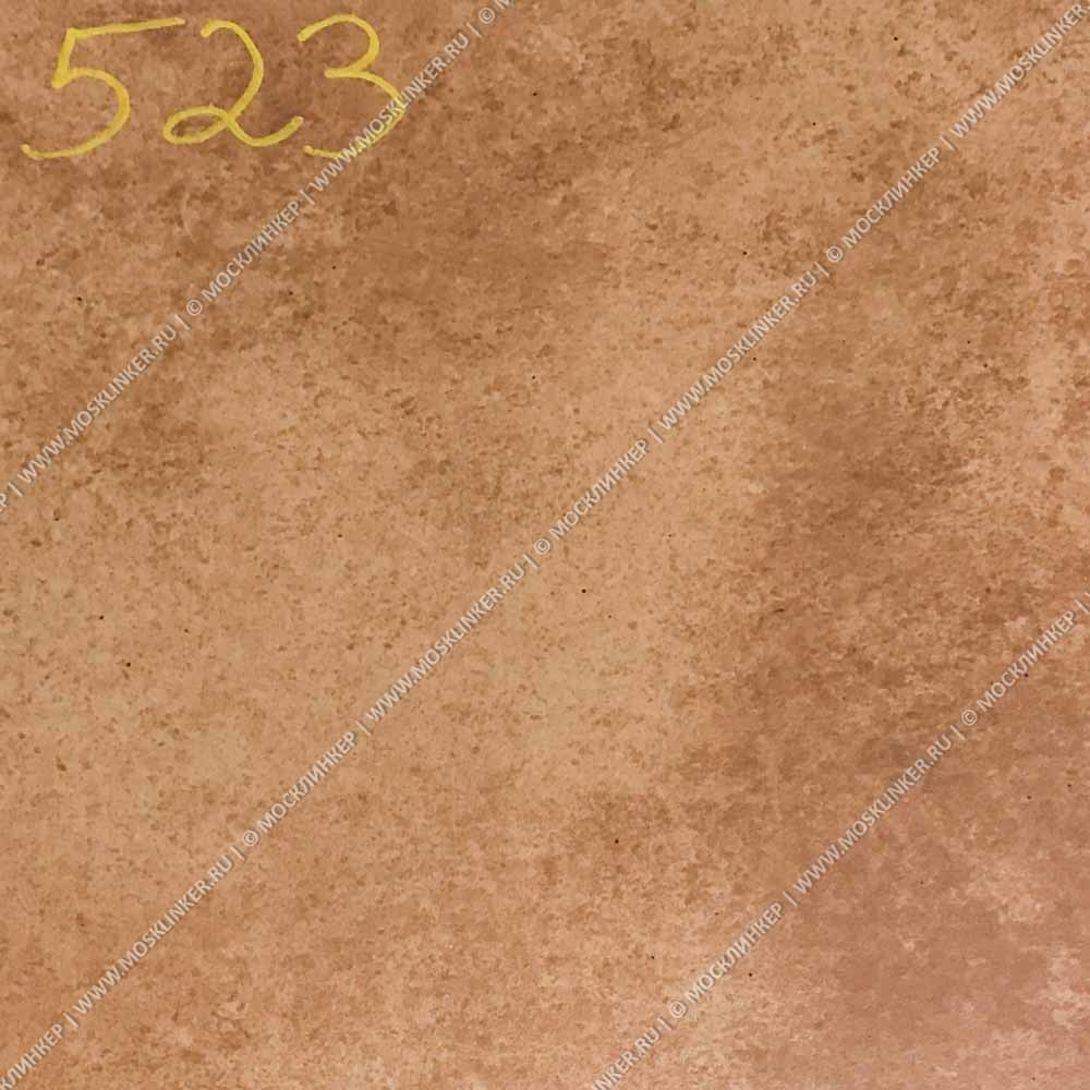 Stroeher - Euramic Cadra E 523 cotto 340x294x11 артикул 9350 - Клинкерная ступень - флорентинер