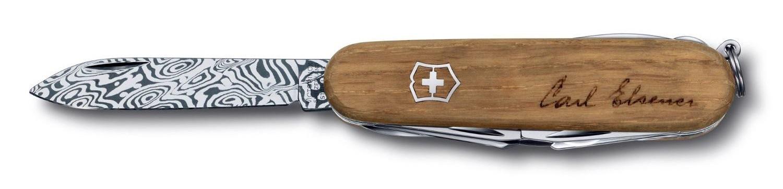 Складной коллекционный нож Victorinox Explorer Damast Limited Edition 2013 (1.6701.J13) дамасская сталь, лимитированное издание - Wenger-Victorinox.Ru