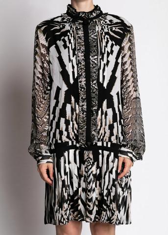 <p>Платье из шелка</p> ROBERTO CAVALLI