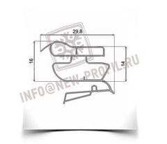 Уплотнитель для холодильника Zanussi ZK24/11R (морозильная камера)  Размер 65.5(66)*57 см Профиль 022