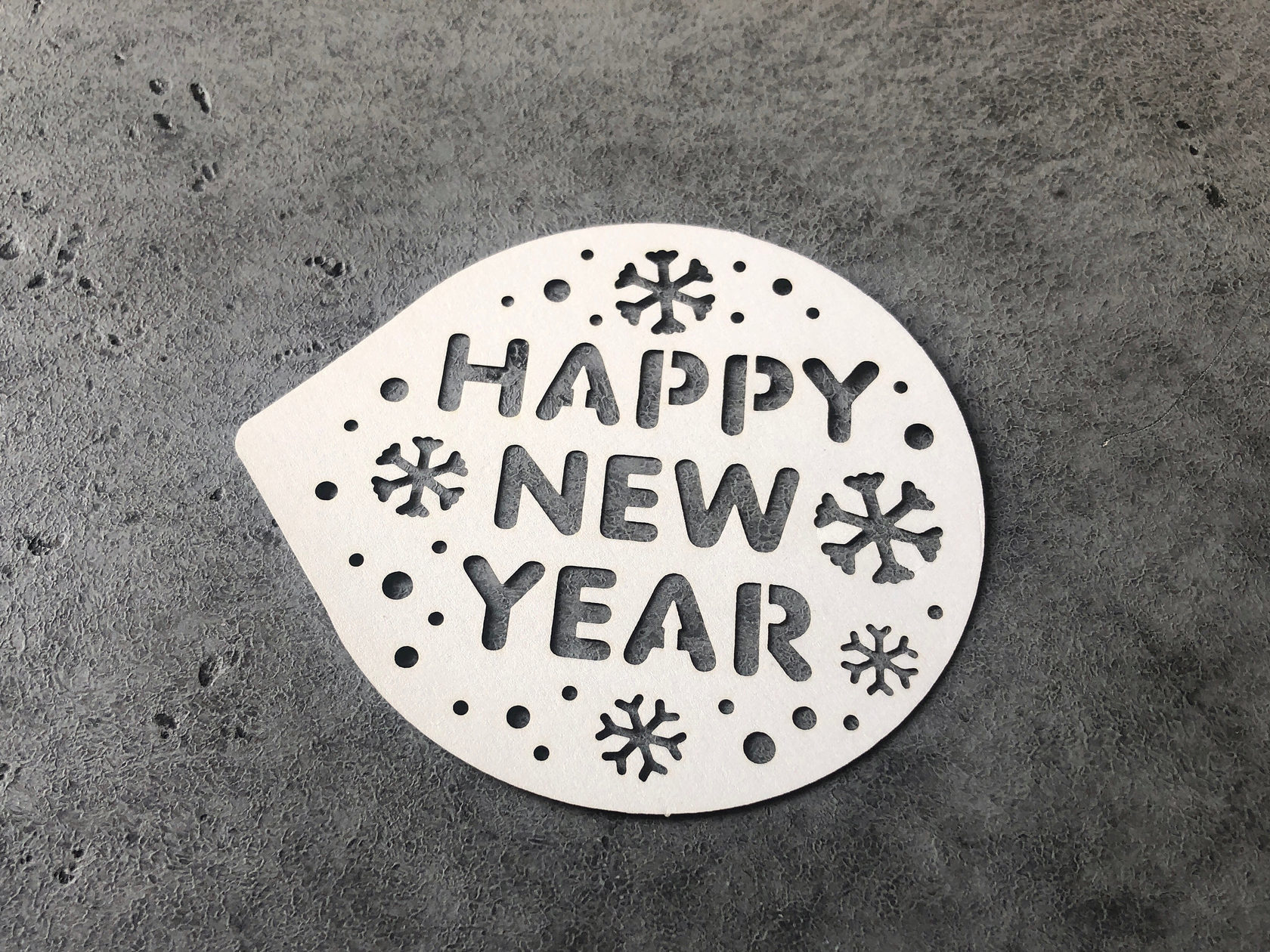 Трафарет «Happy New Year»