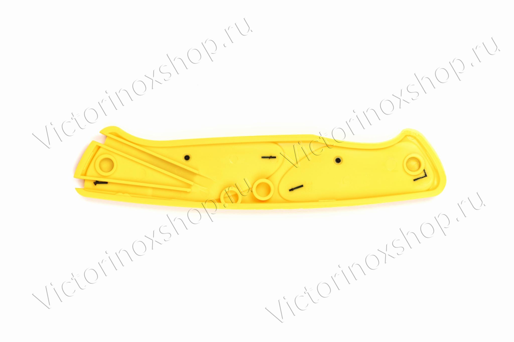 Задняя накладка для ножей VICTORINOX 130 мм, нейлоновая, жёлто-чёрная (C.9538.C4)
