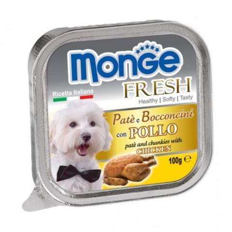 Monge Dog Fresh Консервы для собак из курицы (ламистер)