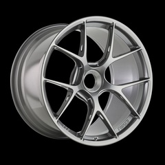 Диск колесный BBS FI-R 9x20 CentralLock ET52 CB84.0 platinum silver