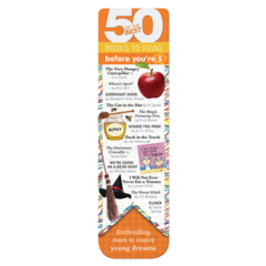 50 Books bookmarks