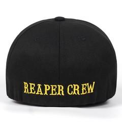 Кепка с золотой надписью  REAPER CREW (Бейсболка Воины Света) черная