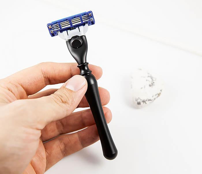 RAZ463 Ручка для бритвы кассет GILLETTE MACH 3 фото 07
