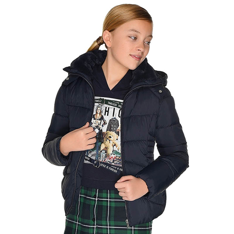Куртка Mayoral Темно-синяя Демисезонная