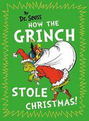 How Grinch Stole Christmas  (HB)