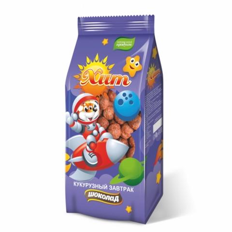 Готовый завтрак ХИТ Шарики Шоколад 200 гр КАЗАХСТАН