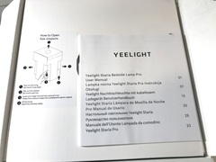 Инструкция Yeelight LED Desk Lamp Pro