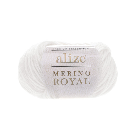 Alize Merino Royal белый 55