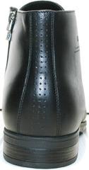 Зимние кожаные ботинки мужские высокие Ikoc 3640-1 Black Leather.