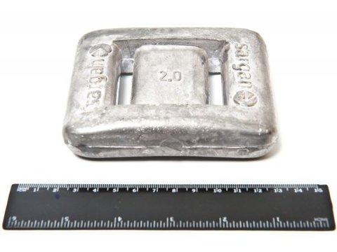 Груз Sargan - 2кг без покрытия