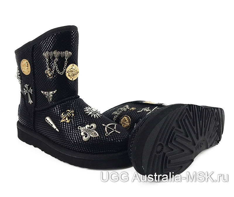 UGG & Jimmy Choo Multising Black