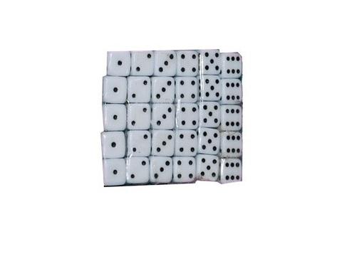 Кубик игровой белый № 11. Продажа штуками.