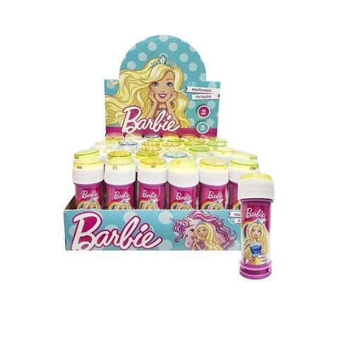 Мыльные пузыри Barbie, дисплей 1кор*6бл*36шт 50 мл