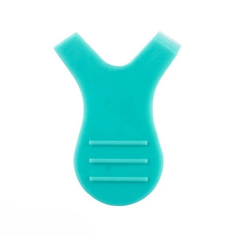 Аппликатор бирюзовый для нанесения составов для биозавивки и ламинирования