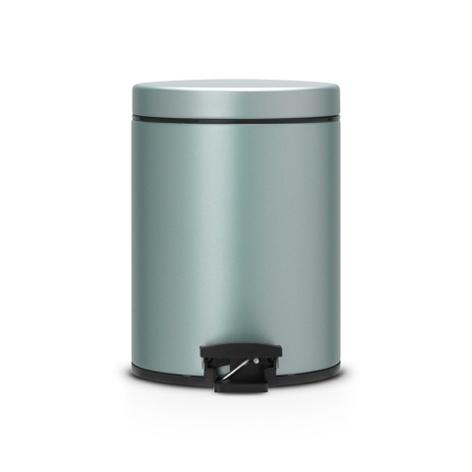 Мусорный бак Brabantia  (5л), Классический, Мятный металлик, арт. 484087 - фото 1
