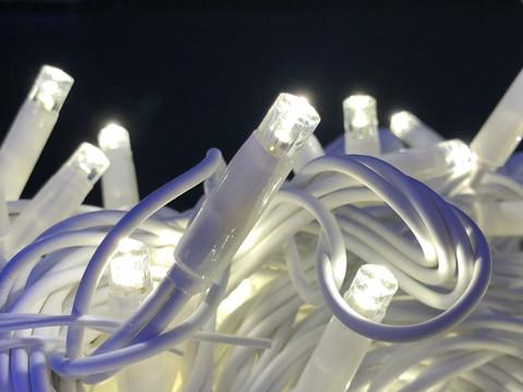 Гірлянда-нитка Вулична String light 100 LED CX 10 м. тепло-біла