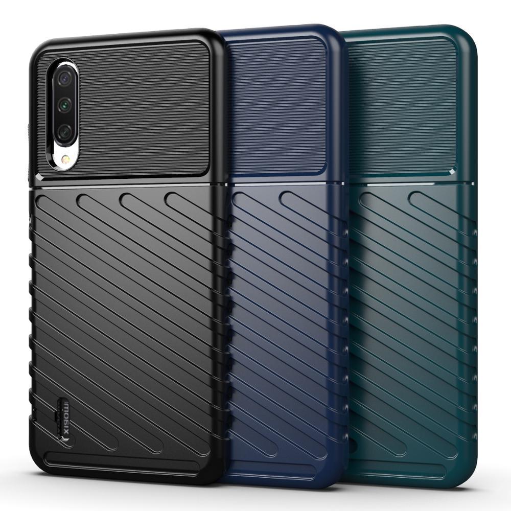 Чехол для Xiaomi Mi A3 (CC9E) цвет Black (черный), серия Onyx от Caseport