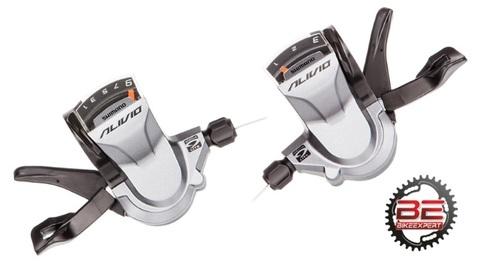 Шифтеры комплект Shimano Alivio M-4000