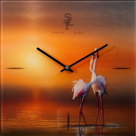 Настенные часы Салют SLT 5807 Flamingo