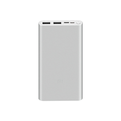 Внешний аккумулятор Xiaomi Mi 18W Fast Charge 10000mA Power Bank 3 белый