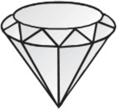 Бита для снятия заусенцев HSS с алмазным покрытием N1