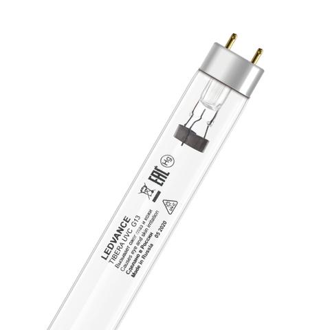 Лампа бактерицидная УФ трубчатая Sweko SSL-T8-UVC-30W-G13-BG