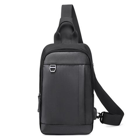 Однолямочный рюкзак Golden Wolf GXB00124 Черный
