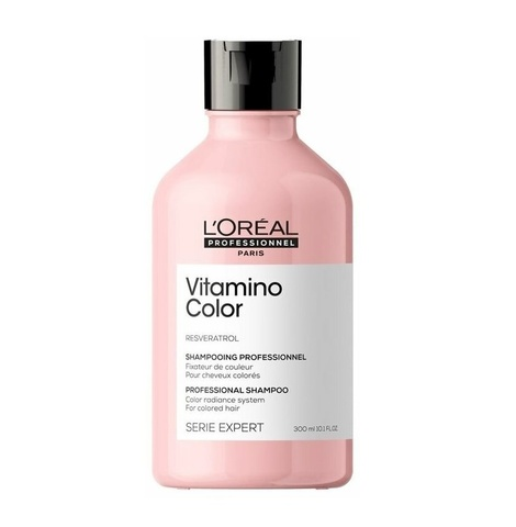 Шампунь для окрашенных волос, L'Oreal Vitamino Color Resveratrol Shampoo, 300 мл.