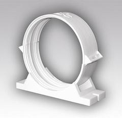 Держатель-соединитель 100 мм для круглых воздуховодов с уплотнителем