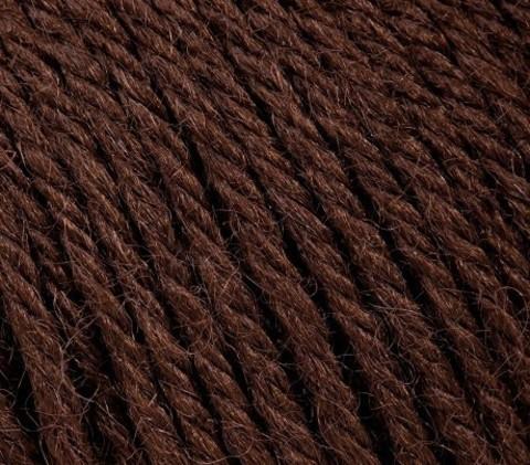 Пряжа Gazzal Baby Wool шоколад 807