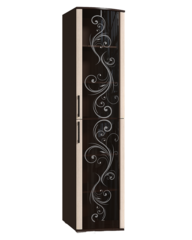 Шкаф-витрина Флоренция венге/дуб атланта