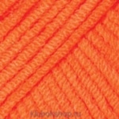 Пряжа Jeans YarnArt 77 Ярко-оранжевый - купить в интернет-магазине недорого klubokshop.ru