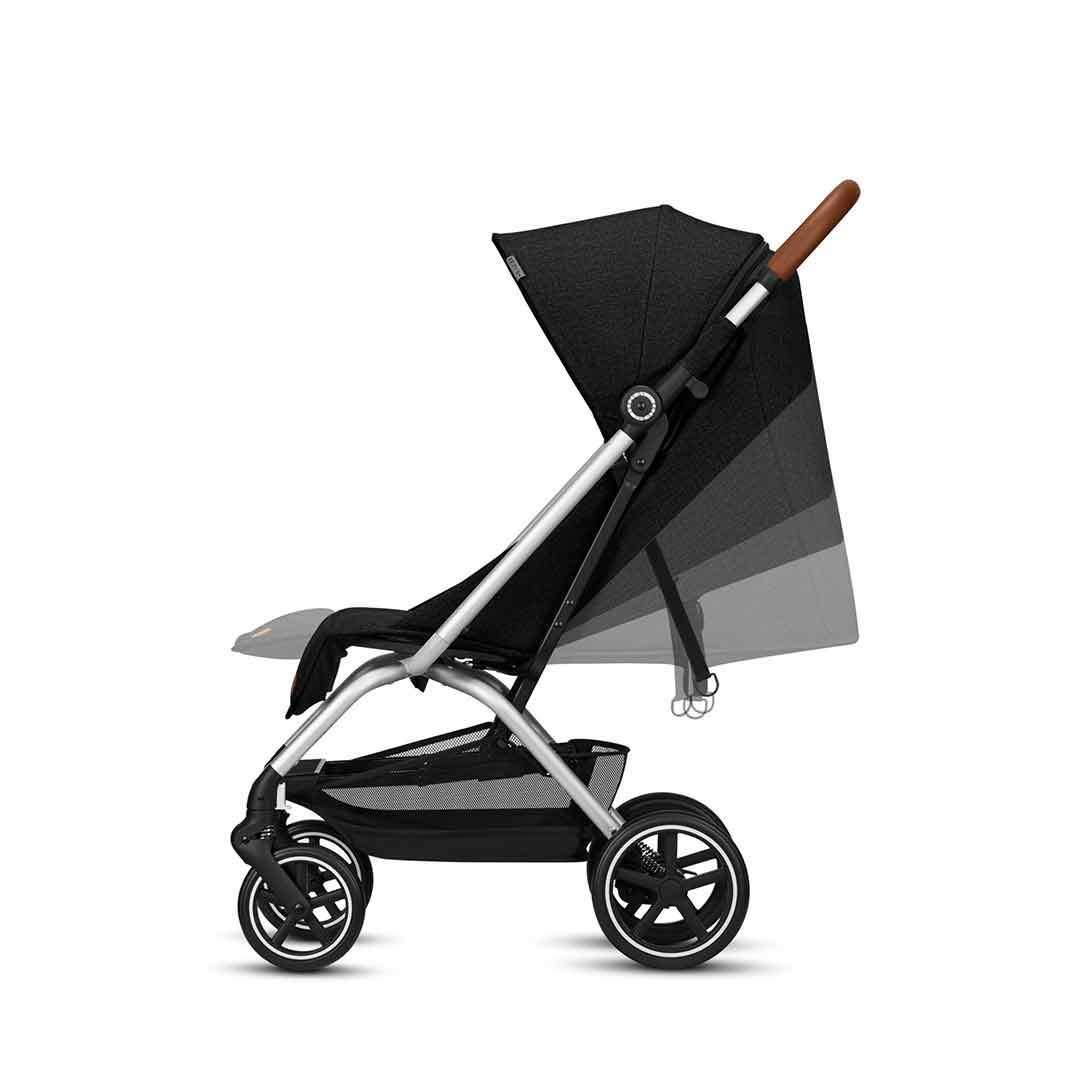 Прогулочная коляска Cybex Eezy S Plus DENIM Lavastone Black