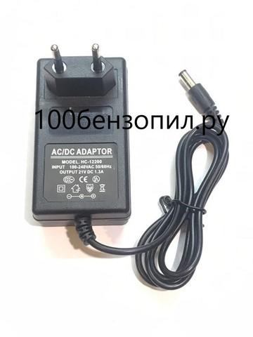 Блок питания 18V 1300мА (21V)
