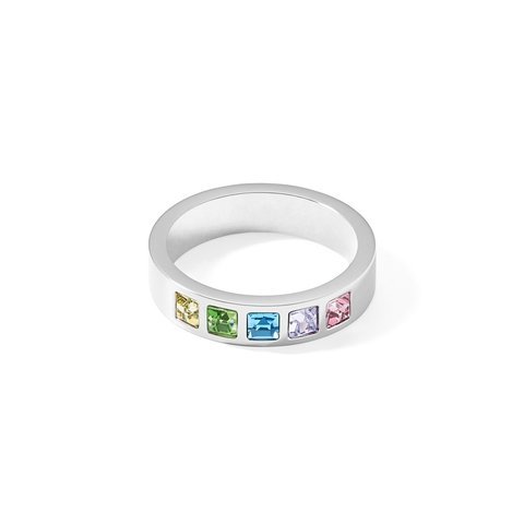 Кольцо Multi-Pastel-Silver 17,2 0130/40-1580 54