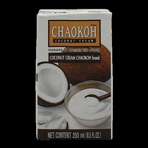 Кокосовые сливки из мякоти спелого кокоса CHAOKOH, 250 мл