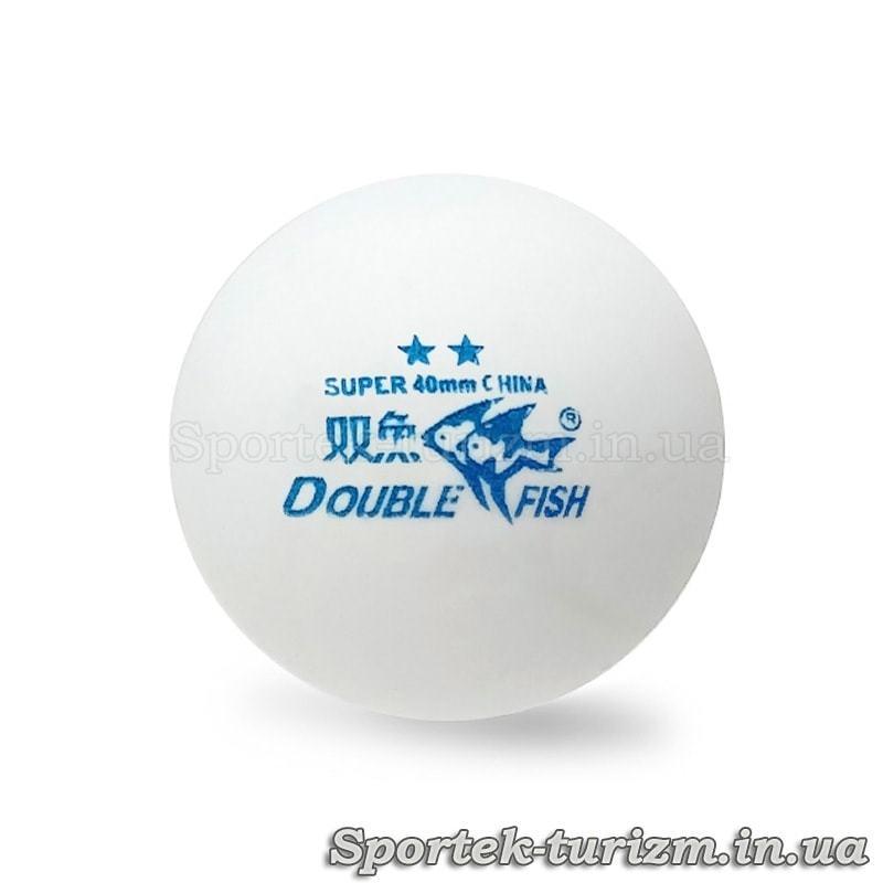 М'яч для настільного тенісу Double Fish ** (тренувальний)