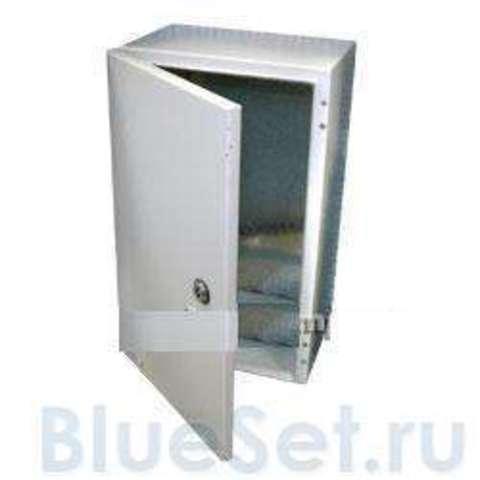 Шкаф металлический IP55 400х300х150мм (светло-серый)