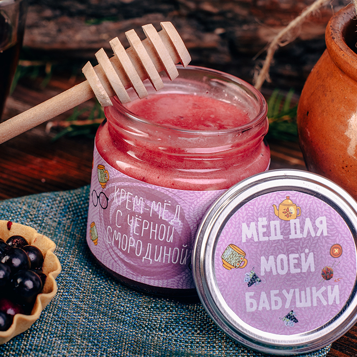 Купить в подарок крем-мед ДЛЯ ЛЮБИМОЙ БАБУШКИ в Перми