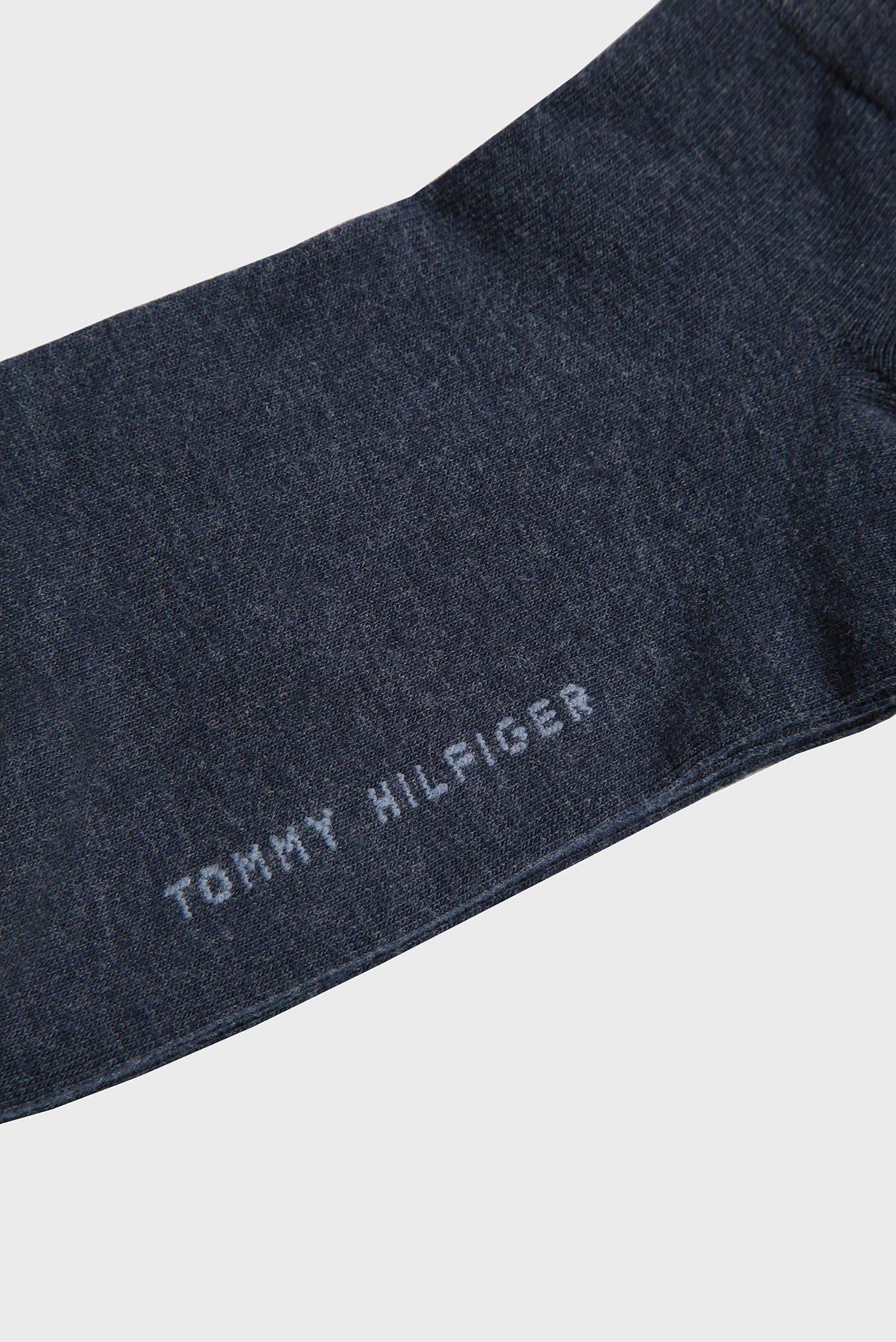 Женские синие носки (2 пары) Tommy Hilfiger